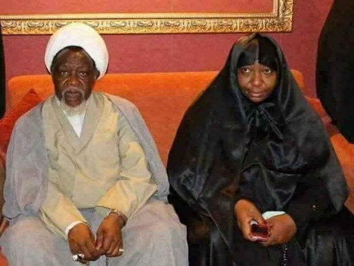 Zakzaky and wife Zeenat