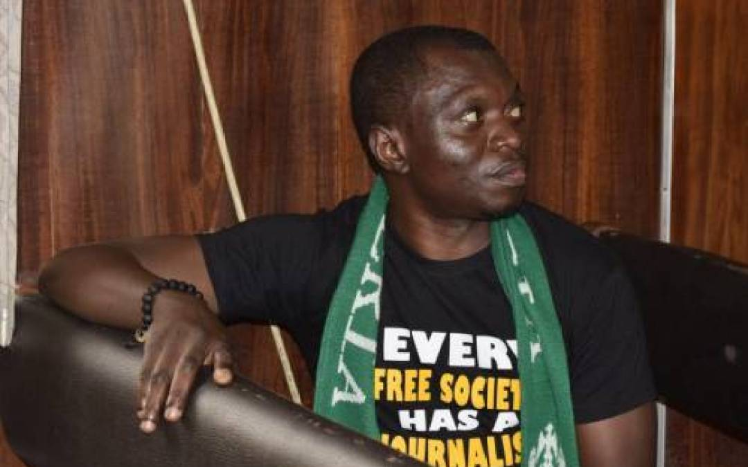 BREAKING: June 12: Newspaper Editor, Agba Jalingo Arrested Over Fake Petition Claiming He Is An Arms Dealer