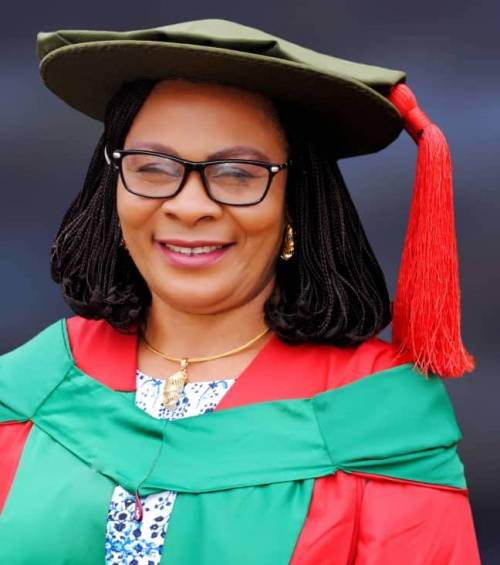 Dr. Mrs. Anene-Okeakwa, the Provost of the Federal College of Education (Technical) Asaba, Delta State.
