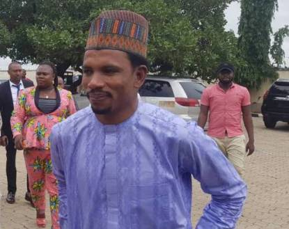 Senator Abbo Takes Selfies As Police Arraign Him For Assaulting Woman In Sex Toy Shop