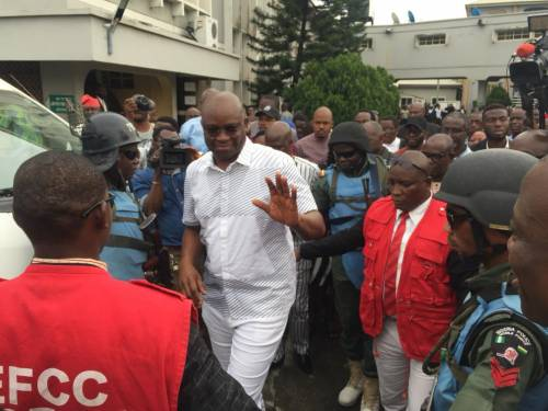 Image result for Court grants Fayose N50m bail