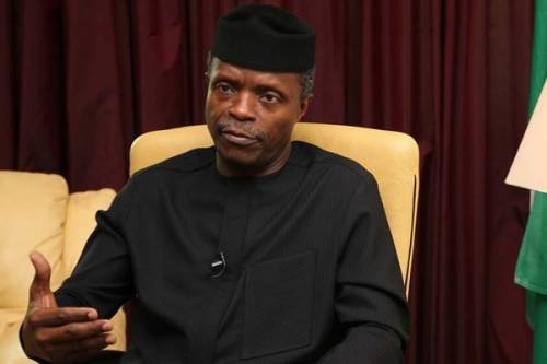 Osinbajo - We Have Not Won The War Against Corruption VP. Osinbajo Confesses