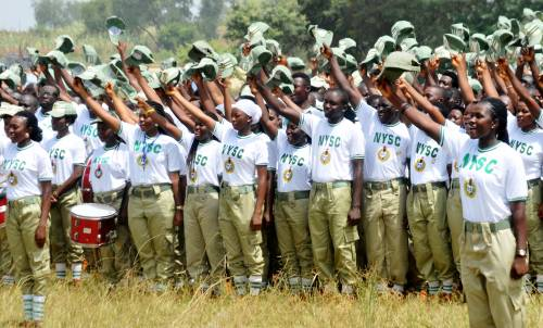PIC. 13. SWEARING IN OF NYSC 2015 BATCH B CORPS MEMBERS IN BAUCHI