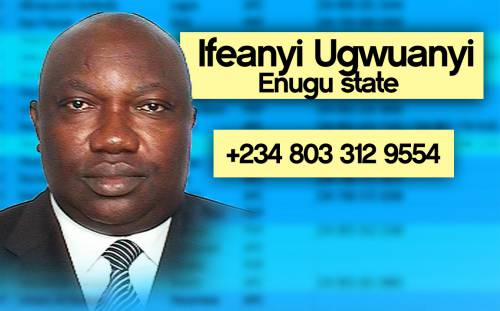 UGWUANYI Photos: Phone numbers of Nigerian governors leaked