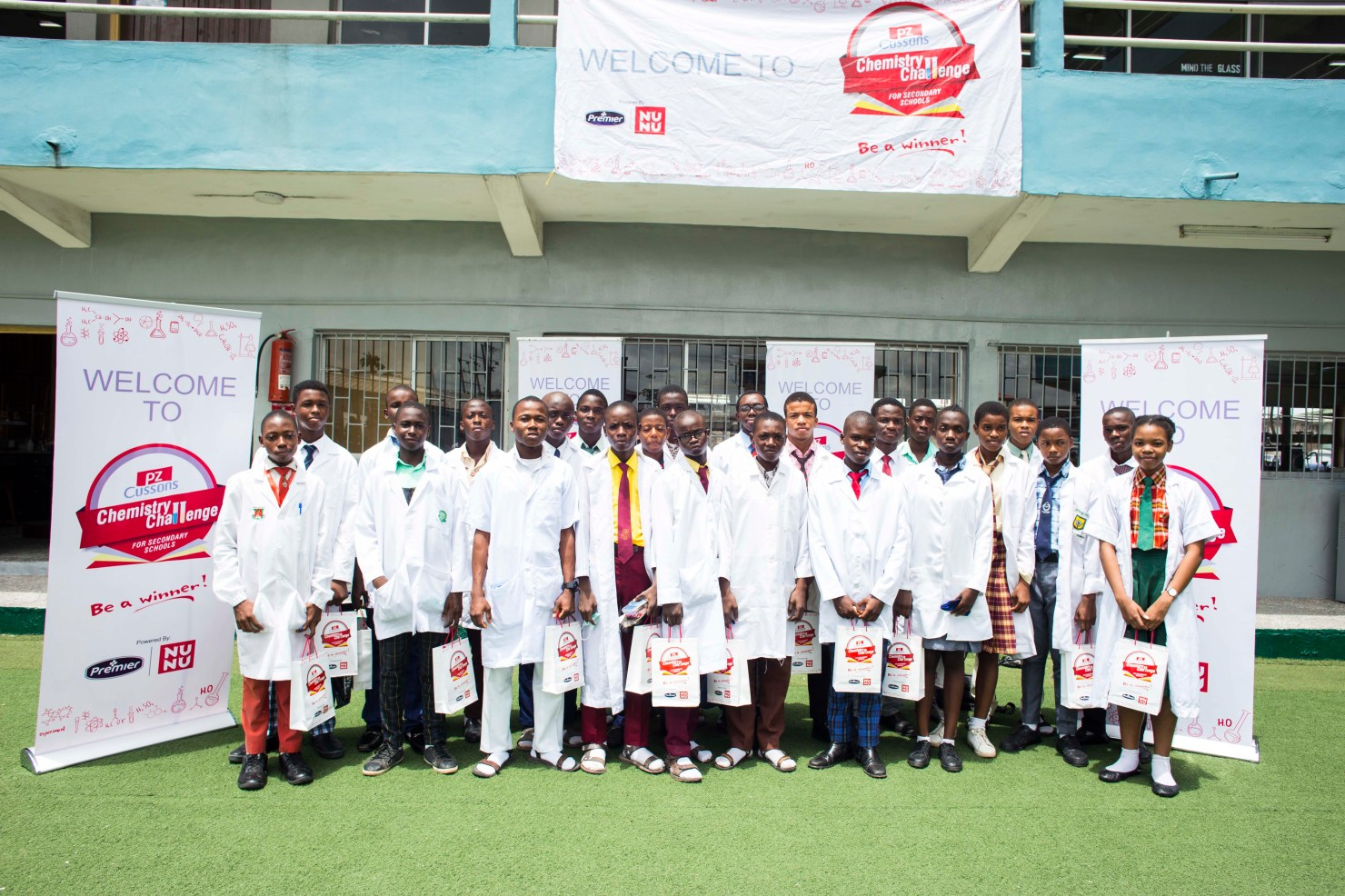 Six Battle for N1m at PZ Cussons Chemistry Challenge