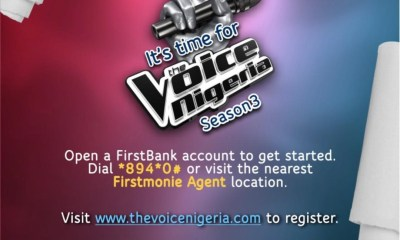 How 6 Finalists Will Emerge from FirstBank's Sponsored The Voice Nigeria S3