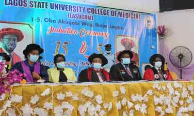 Hold your heads high'- Fabamwo charges newly inducted Doctors