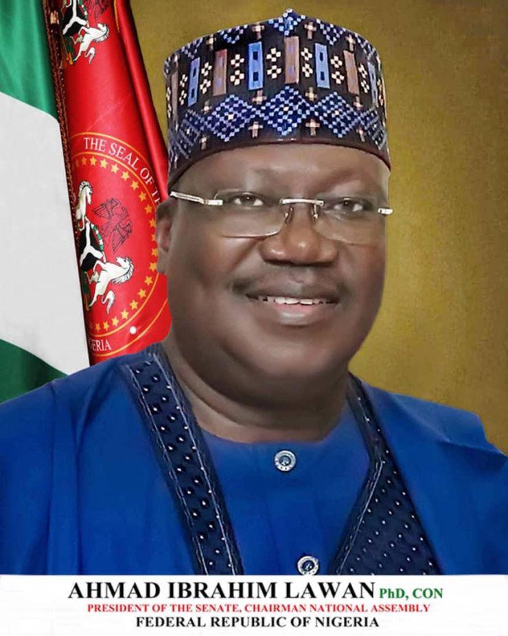 Senate President felicitates with Yobe Governor Buni @53