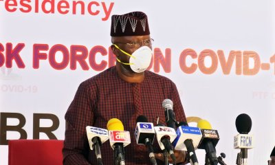 SGF Mustapha's Shocking Revelation of How His Four Children Tested Positive For COVID-19