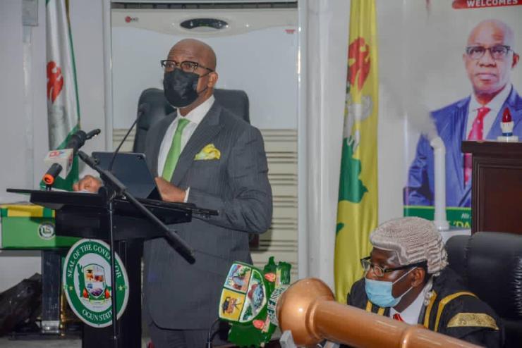 Ogun: Abiodun presents N339 billion budget proposal to OGHA