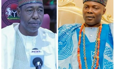 Stop Demoralizing Army With Constant Blackmail, Oba Oyelude Warns Zulum