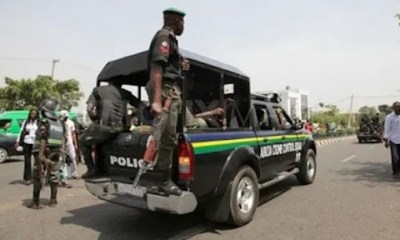 Deji Adeyanju Confirms Protesters Being Attacked By Police,DSS