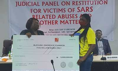 #EndSARS: Lagos Panel Awards ₦16.25 Million To Four Petitioners (Photos)