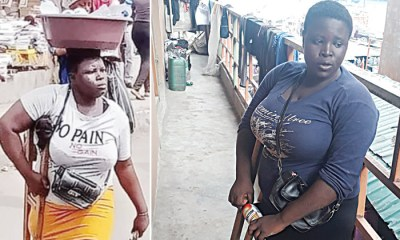 Lagos Amputee Hawker Narrates How She Survives Selling Water On One Leg ( Video)