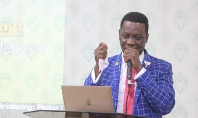 """Pastor Enoch Adejare Adeboye, Wife and Members of The Redeemed Christian Church Of God are mourning. And this is not unconnected to the fact that Dare, one of the biological sons of Pastor Enoch Adeboye, the General Overseer of the Redeemed Christian Church of God, RCCG, is dead.He was 42.Dare who is the third son of Adeboye, died in his sleep on Wednesday, May 5th, 2021 in Eket, Akwa Ibom State, where he was based with his family.Confirming the death, the spokesman of the church, Pastor Pastor Olaitan Olubiyi said """"Dare Adeboye died in his sleep.He however added that details and circumstances surrounding the unexpected death are still sketchy.He promises to make an official statement before the end of Thursday. The deceased, who was assistant Pastor in charge of Region (Youth) 35, had ministered the previous day and had returned home to sleep from which he passed on. Pastor Olaitan Olubiyi, the Head of Media and Public Relations, RCCG, Pastor Olaitan Olubiyi, confirmed the death of Dare to Punch newspapers.Reportedly, he said, """"It is true. The incident happened in Eket where he was based. I don't have the details for now. Maybe before the end of today, we will issue a statement. The younger Adeboye was neither sick nor on medication when the tragic incident happened.""""When Dare marked his 42nd birthday in June last year (he would have been 43 in June 2021), Pastor Adeboye described him as his first miracle child. He wrote on his Facebook page then: """"Our first miracle child. We pray that God will keep his miraculous working power in your life and all those who need a miracle today, will use you as a point of contact for their own in JESUS name. (Amen) love from Dad, Mom, and the whole Adeboye dynasty."""""""