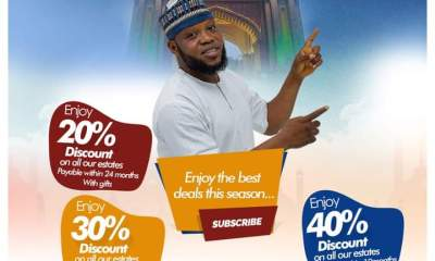 Eid-el-Fitri: Adron Homes Offer Nigerians Promo Of Lands With N25,000 Naira