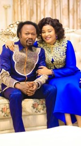 Birthday Celebration: Pro. Iginla Pens Emotional Message To Wife, Prophetess Stella.