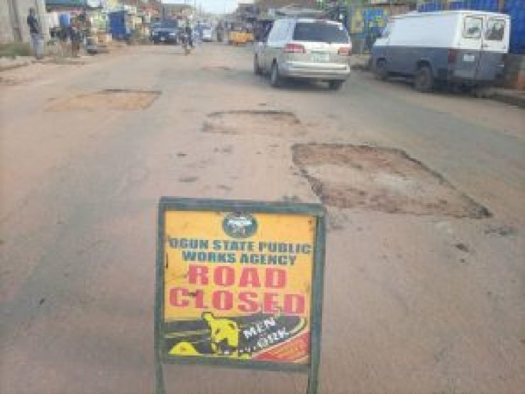 OGPWA COMMENCES ANOTHER PHASE OF ROAD REPAIRS, CAUTIONS ROAD USERS.