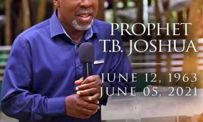 TB JOSHUA was my mentor, spiritual father - Obaseki