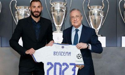 Benzema signs a new deal with Real Madrid By Rapheal Akinwunmi