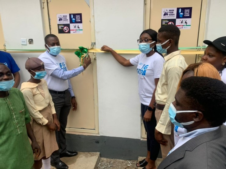 JCI Nigeria Ikeja Donates 6 Modern Toilets To Comprehensive High School In Lagos [PHOTOS]