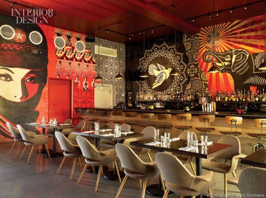 367092-Fairey_s_screen_printed_panels_fitted_together_wrap_the_restaurant_s_lounge_with_its_tweed_covered_chairs_Photography_Mark