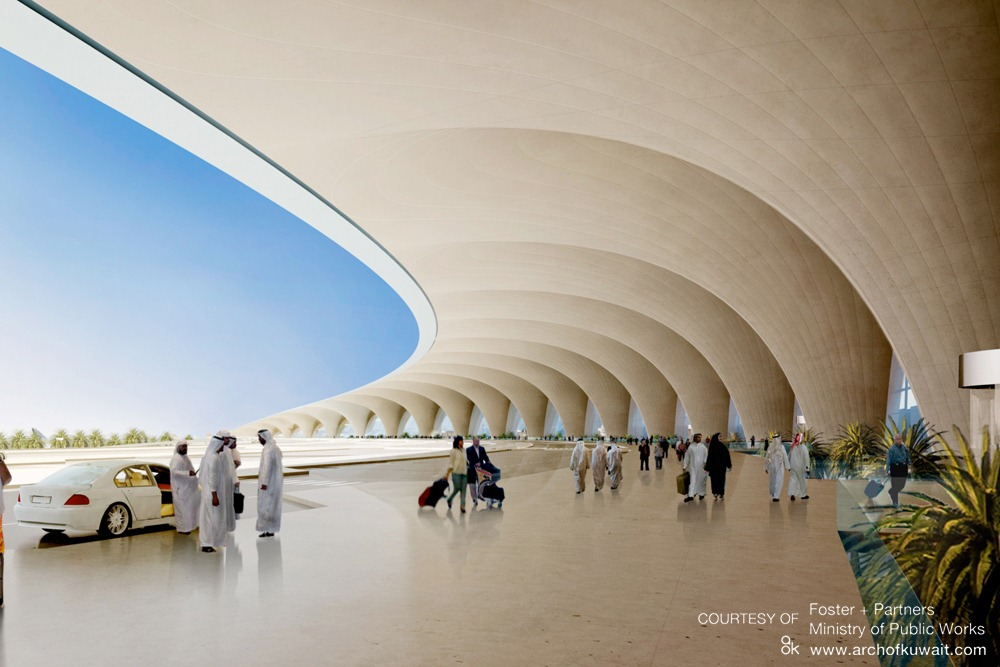 Kuwait International Airport By Foster Partners Architecture Design Lifestyle Blog