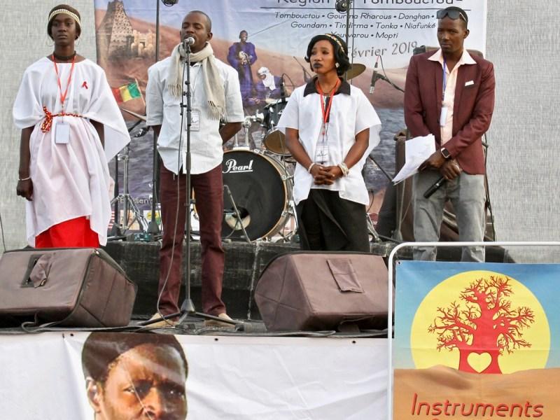 L'hommage de Niafunké à feu Aly Farka Touré