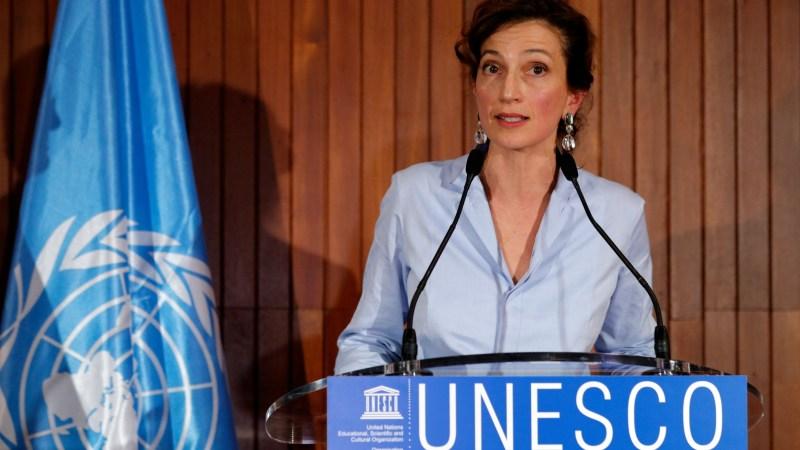 Audrey Azoulay, directrice générale de l'UNESCO : «Les livres ont la capacité unique à la fois de divertir et d'enseigner»