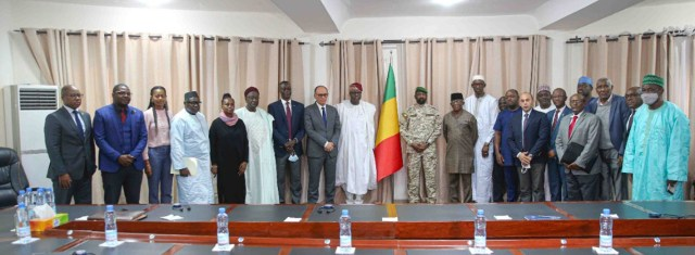 Délégation du Conseil Paix et Sécurité de l'UA à la rencontre des autorités maliennes