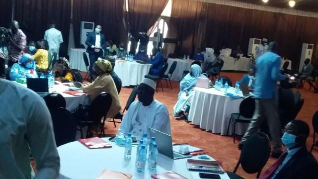 Des participants à l'atelier de validation de la SIJ à Bamako