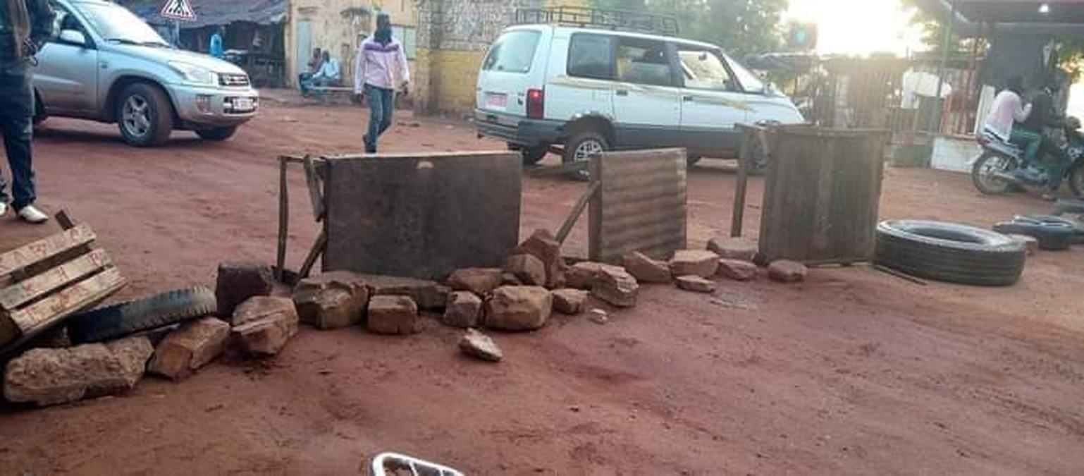 Koulikoro: la jeunesse vent debout contre le mauvais état des routes