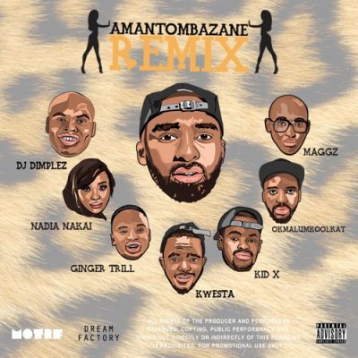Riky Rick - Amantombazane (Remix)