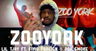 (Video) Lil Tjay ft Fivio Foreign & Pop Smoke - Zoo York