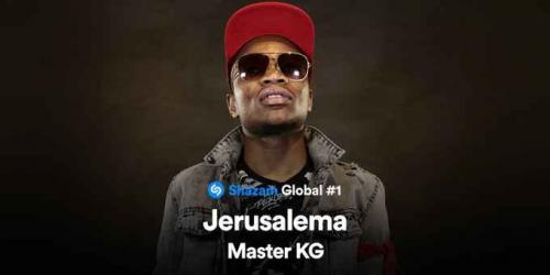 Master KG's Jerusalema Is The Most Streamed Song On Shazam