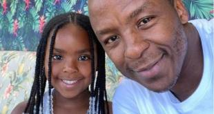 Kabelo Mabalane takes his daughter on a coffee date