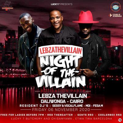 Lebza TheVillain - #YTKO 30 Oct Mix