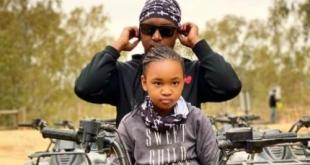 Photo: Shimza's daughter pens heartful message to him