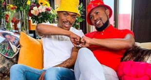 Somizi congratulates husband, Mohale as he acquires new whip