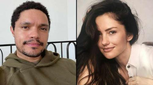 Trevor Noah and new girlfriend Minka Kelly plan on moving in together?