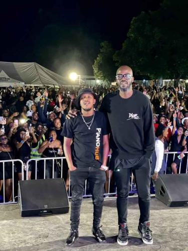 Photo: Black Coffee Happy To Meet 'King' Kabza De Small For The First Time