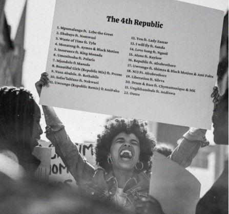 Album: Prince Kaybee - The 4th Republic (Tracklist)