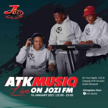 ATK MusiQ - Amapiano Hour Jozi Fm Mix