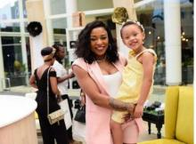 DJ Zinhle is in awe at how fast her Kairo Forbes has grown.