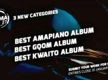 Here are The Three New Categories Added For #SAMA27