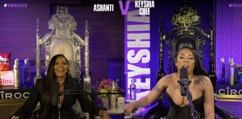 VIDEO: Ashanti vs. Keyshia Cole 'VERZUZ' Battle