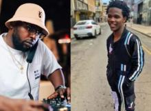 Watch: DJ Maphorisa teases a new song with the new talent he found last week