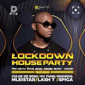 Culoe De Song - Lockdown House Party (5th March 2021)
