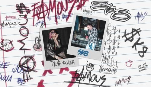 Sk8 ft Tyla Yahweh - Famous