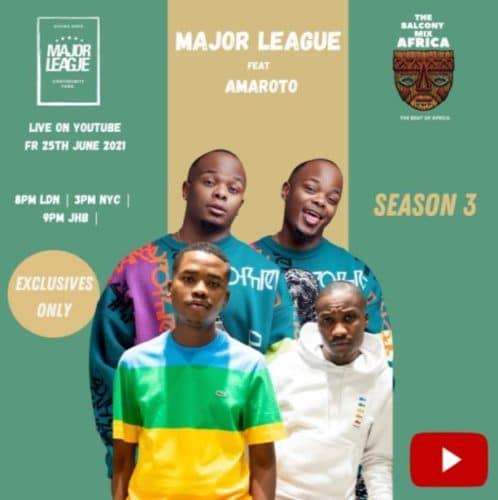 Major League DJ, Reece & Zuma - Amapiano Live Balcony Mix B2B (S3 EP02)
